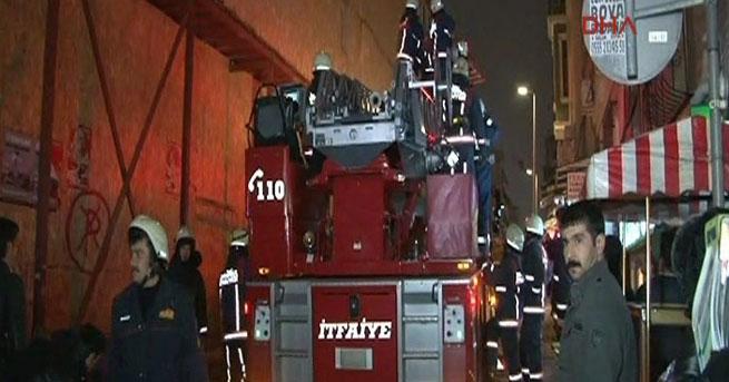 Şişli'de 6 katlı bina çöktü
