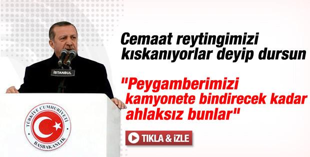 Erdoğan'dan STV'nin Peygamberli sahnesine sert eleştiri