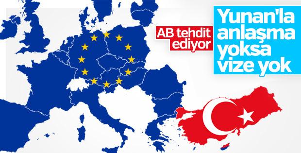 Avrupa Birliği'nden vize tehdidi