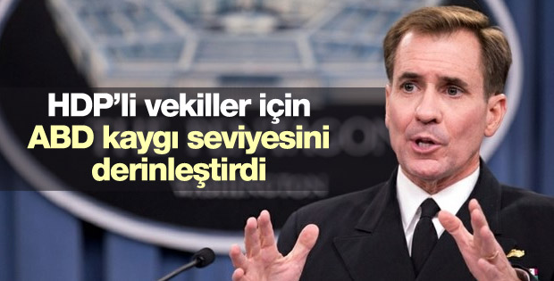 ABD'den HDP'ye terör operasyonu hakkında açıklama