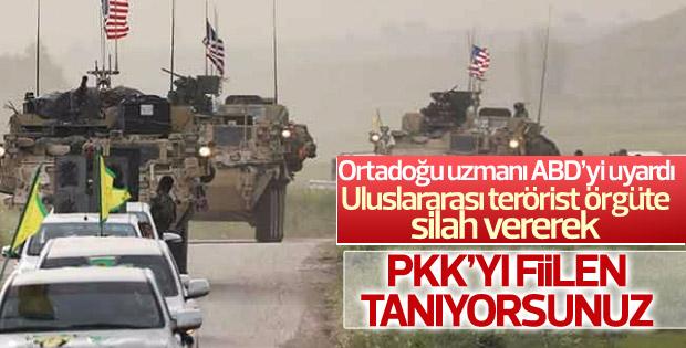 Ortadoğu uzmanından ABD'ye PYD/PKK uyarısı
