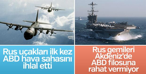 Alaska ve Akdeniz'de Rusya-ABD gerilimi
