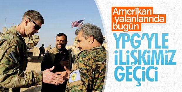 ABD: YPG ile ilişkimiz geçici