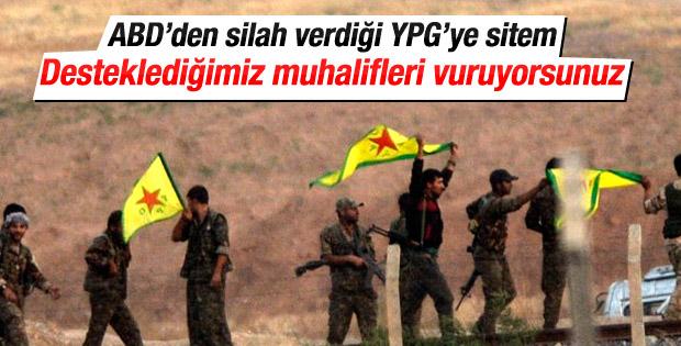 ABD: YPG desteklediğimiz muhalifleri hedef alıyor