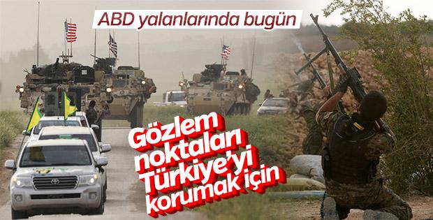 ABD, YPG için kurulacak gözlem noktalarını savundu