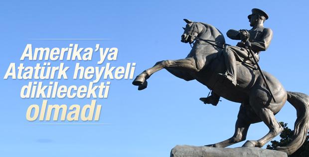 ABD'ye yapılacak Atatürk anıtı oy birliğiyle engellendi