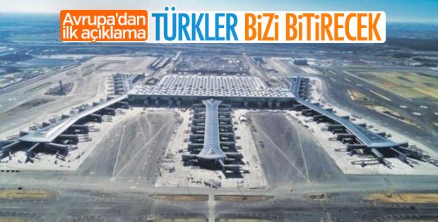 İstanbul Havalimanı Avrupalıları endişelendirdi