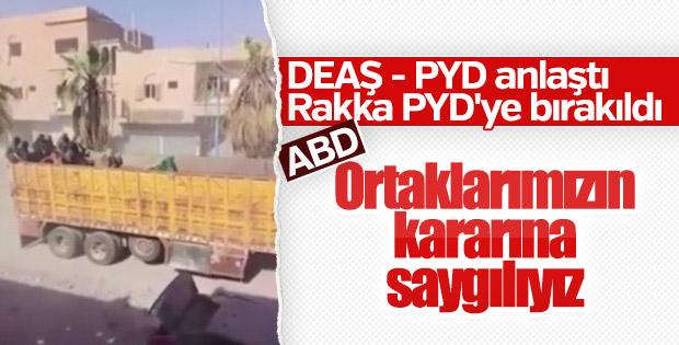 ABD: PKK ve DEAŞ'ın anlaşmasına saygı duyuyoruz