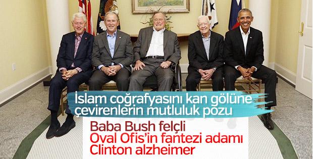 ABD başkanlarının son hali