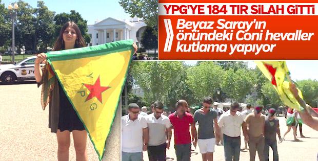ABD'den PKK/PYD'ye askeri sevkiyat