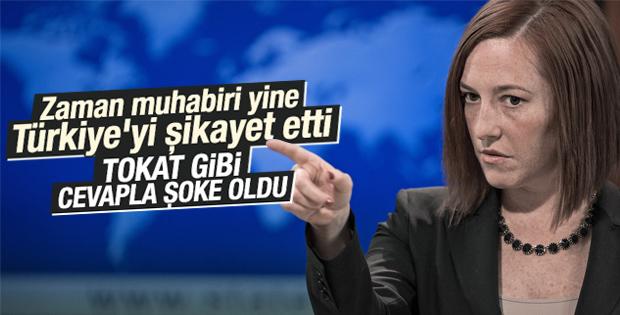ABD'li Sözcü: Türkiye'nin iç işlerini değerlendiremem