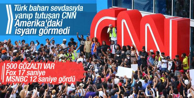 Washington'daki protestoları CNN ve Fox görmedi