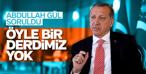 Abdullah Gül aday olacak iddiası Erdoğan'a soruldu