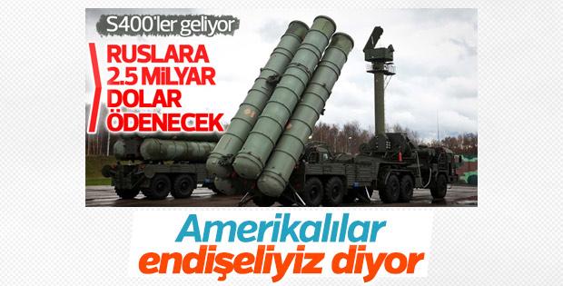 Türkiye'nin S-400 alımı ABD'yi endişelendirdi
