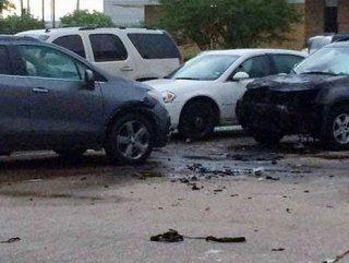 ABD'de polis merkezine saldırı