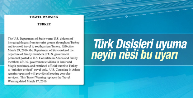 ABD asker ailelerinin Türkiye'den ayrılmasını istedi