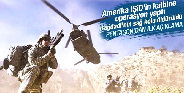ABD Suriye topraklarına operasyon düzenledi