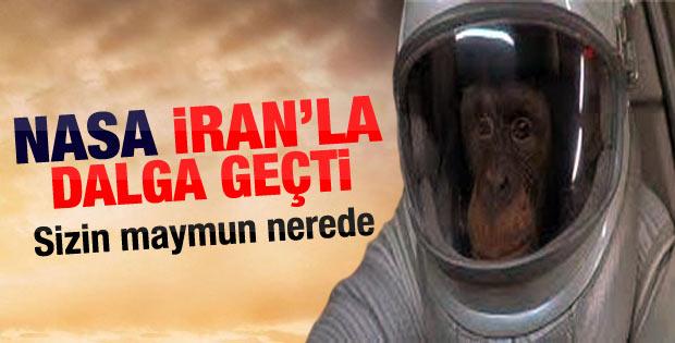 ABD İran'ın uzaya maymun gönderdiğine inanmadı