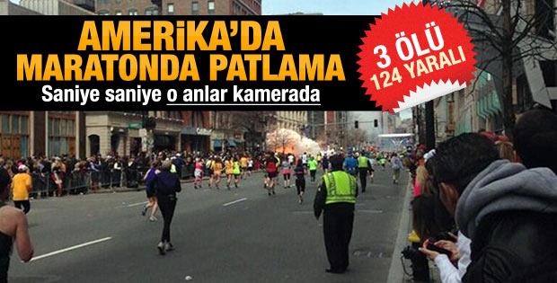 ABD'de maratonda patlama