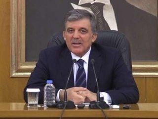 Abdullah Gül'den twitter açıklaması