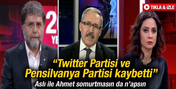 Abdülkadir Selvi: Twitter ve Pensilvanya Partisi kaybetti
