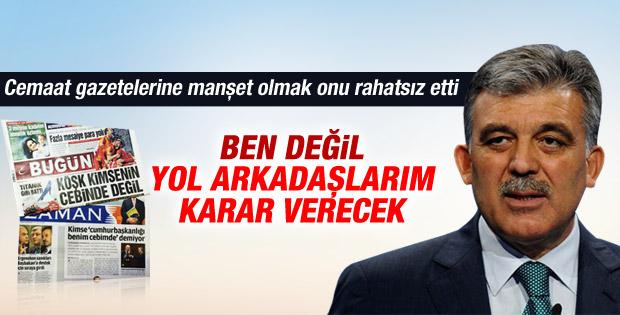 Abdullah Gül: Gelecekle ilgili siyasi bir planım yok İZLE