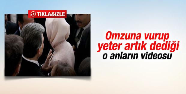 Abdullah Gül'den Hayrunnisa Gül'e bu kadar yeter tepkisi