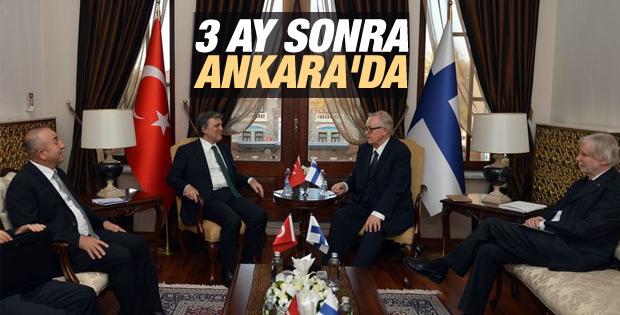 Abdullah Gül 3 ay sonra Ankara'da