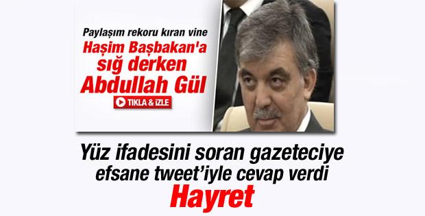 Abdullah Gül'den o yüz ifadesine açıklama