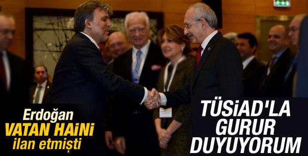 Cumhurbaşkanı Gül TÜSİAD'a gitti