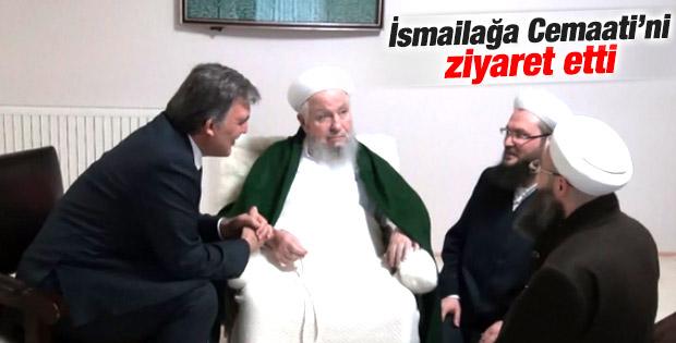 Abdullah Gül'den İsmailağa Cemaati'ne ziyaret