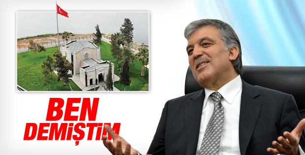Abdullah Gül'den Şah Fırat açıklaması