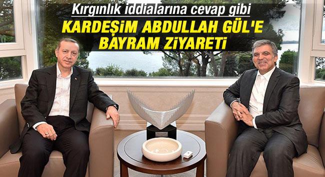Erdoğan'dan Abdullah Gül'e bayram ziyareti