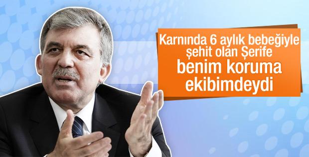 Abdullah Gül'ün eski koruması şehit oldu