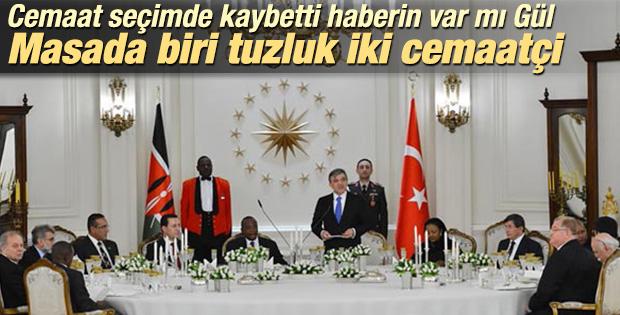 Abdullah Gül Cemaat'e yakın iki ismi Köşk'te ağırladı