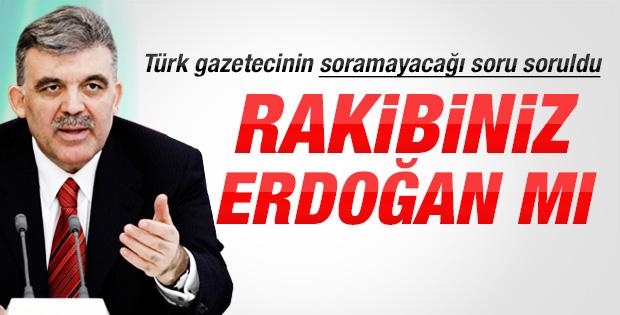 Abdullah Gül'e Sloven gazeteciden kritik soru - izle