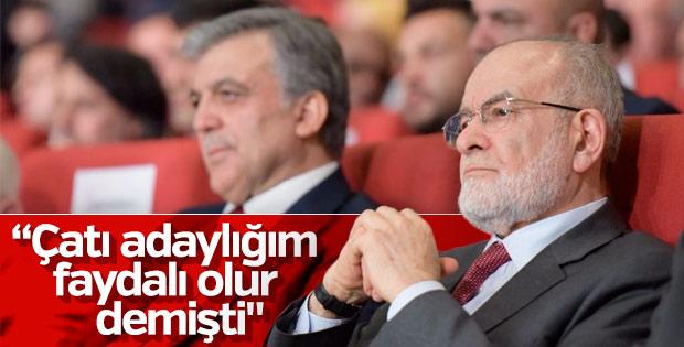 Temel Karamollaoğlu, Abdullah Gül sürecini anlattı
