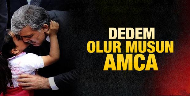 Küçük kızdan Abdullah'a Gül'e dede teklifi