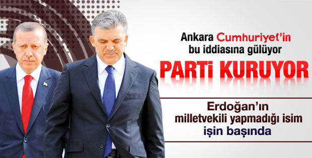 Abdullah Gül ayrı parti kuracak iddiası