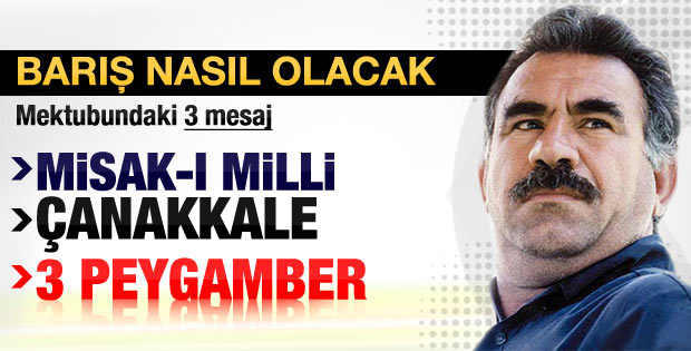 Abdullah Öcalan Misak-ı Milli dedi