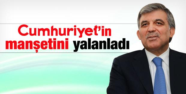 Abdullah Gül parti kuracak iddiasına Köşk'ten yanıt