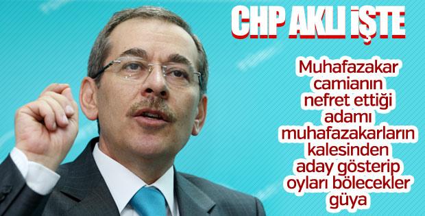 Abdüllatif Şener CHP'den aday oldu