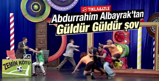 Abdurrahim Albayrak Güldür Güldür Show'da