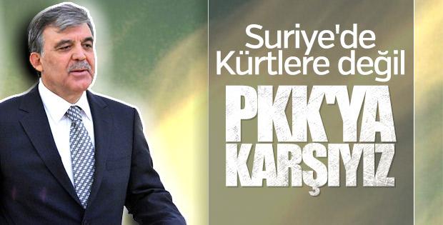 Abdullah Gül Rus televizyonuna konuştu
