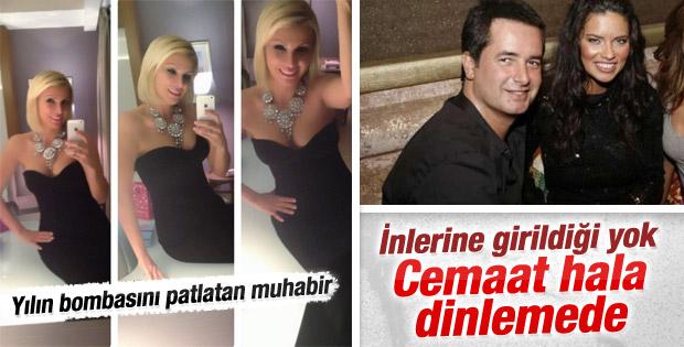 Millet gazetesinden Acun - Adriana ilişkisi iddiası