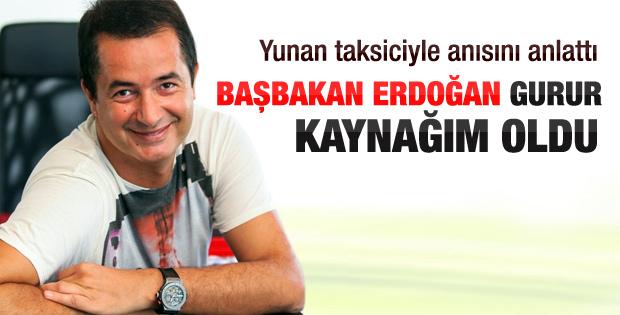 Acun'un Başbakan Erdoğan anısı