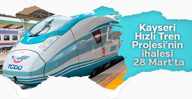 Başbakan Yıldırım'dan Kayseri'ye hızlı tren müjdesi