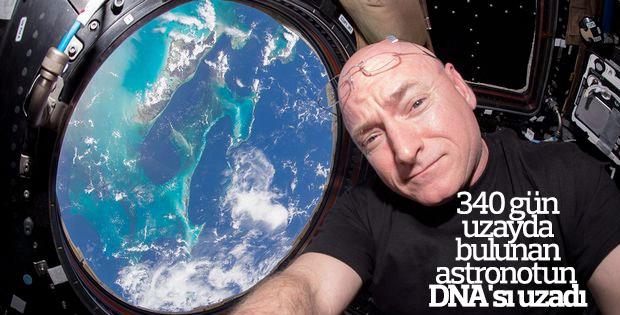 340 gün uzayda kalan astronotun DNA telomeri uzadı