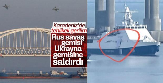 Karadeniz'de Ukrayna-Rusya gerilimi