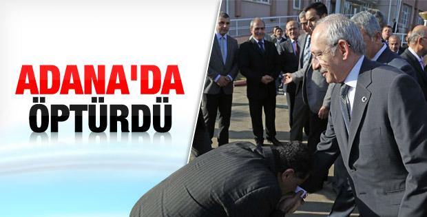 Kemal Kılıçdaroğlu Adana'yı ziyaret etti